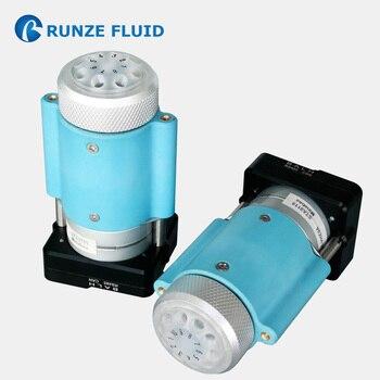 Válvula de conmutación de 6, 8 y 10 vías, estructura compacta pequeña, carrete de zafiro, muestreo de líquidos de alta precisión, Software PLC programable, barato