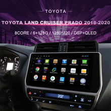 Car DVD For Toyota Land Cruiser Prado 150(2018-2020)Car Radio Multimedia Video Player Navigation GPS Android9 Double Din