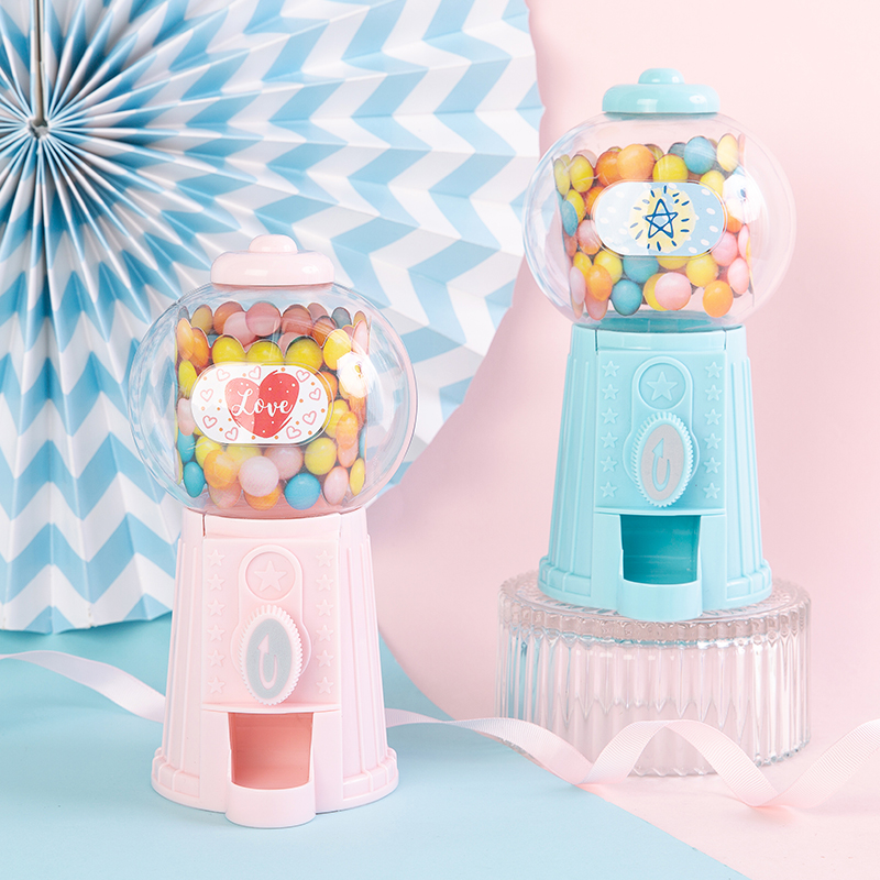 Children's Creative Festival Birthday Gift Savings Tank Dessert Desk Mini Candy Machine Cake Decoration Accessory For Kids