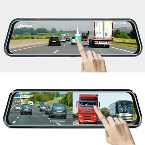 Image 5 - Jansite 10 inches 2.5K Car DVR Touch Screen Stream Media Dual Lens Video Recorder Rearview mirror Dash cam Front and Rear camera