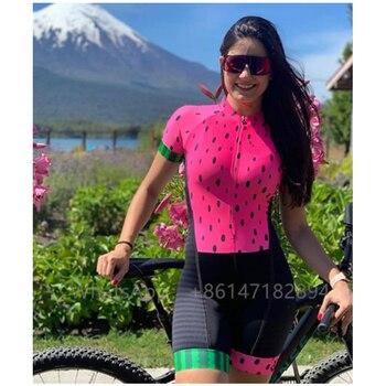 Traje De triatlón profesional para Mujer, ropa para Ciclismo, monos, Kits De...