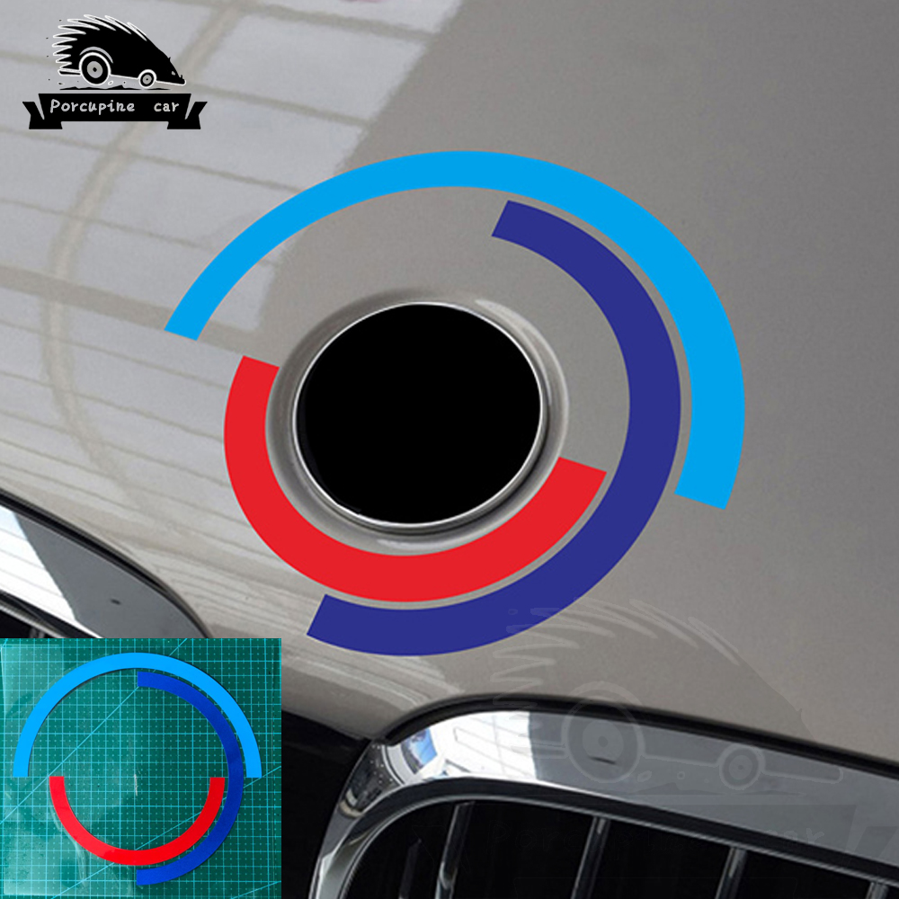 Car Hood <font><b>Engine</b></font> <font><b>Cover</b></font> Logo Sticker For <font><b>BMW</b></font> E60 <font><b>E90</b></font> F20 F30 F10 G30 Z4 F15 F16 F25 G05 G01 G20 X1 Car Accessories Emblem Decals image
