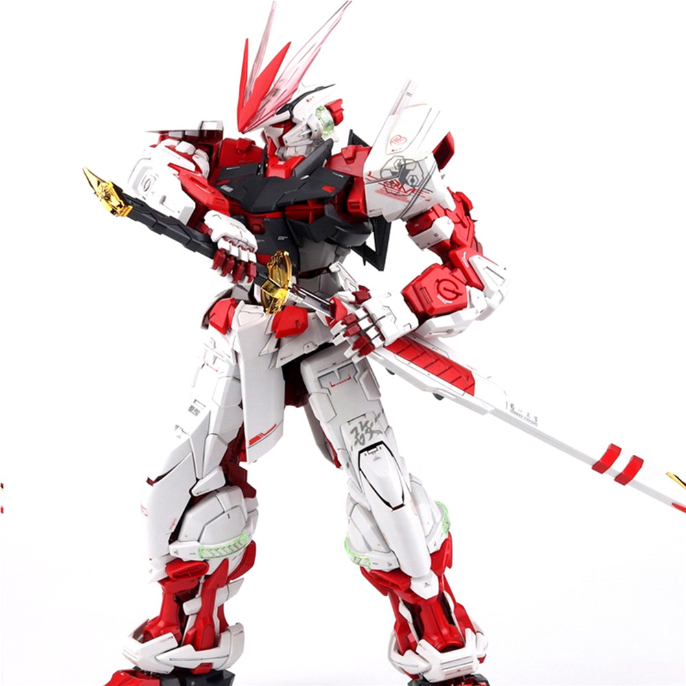 Modified Parts Red Blue Frame Dragon Horn Version 2.0 For Bandai MG 1/100 Astray Gundam Model Kit
