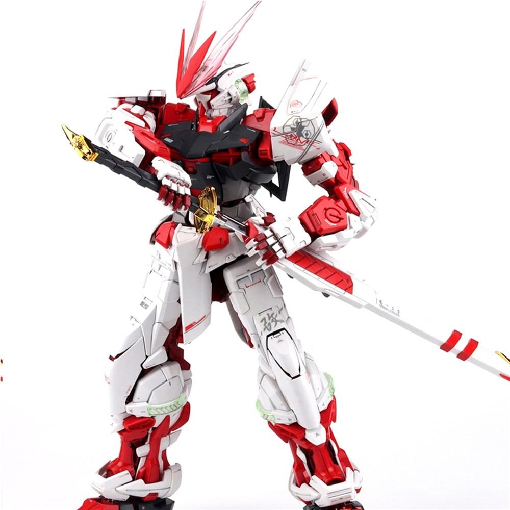 Modified Parts Red Blue Frame Dragon Horn Version 2.0 For Bandai MG 1/100 Astray Gundam Model Kit
