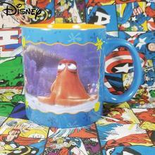 Disney Cute Cartoon Anime Ceramic Mug Simple Large Capacity Mug Coffee Cup Milk Cup Collection Cup