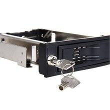 Высокое Качество SATA HDD-Rom Горячая замена внутренний корпус Мобильная стойка для 3,5 дюймов HDD Plug& Play Горячая замена