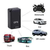Mini GPS Trackers GF 07 GPS Permanent Magnetic SOS Tracking Devices For Vehicle Car Child Location Trackers Locator Systems|車両の GPS|自動車 &バイク -