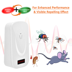 Image 5 - Ultrasonic Mice Repeller Electronic Ultrasound Mouse Control Rejector Anti Mosquito Repellent For Cockroach Bug Rat Rejection