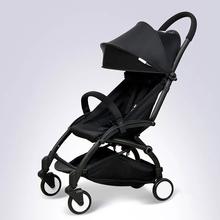 Go on a Plane Baby Stroller New Portable Foldable Four Wheel Baby Buggy travel Lightweight Baby Car Newborn Four Season Stroller