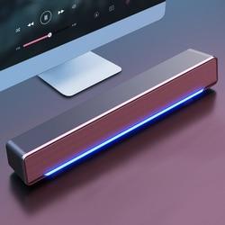 Саундбар 2020 проводной и беспроводной Bluetooth 5,0, динамик для телевизора, Саундбар с сабвуфером, беспроводная Bluetooth Звуковая Панель для телевиз...