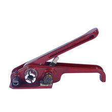 Strapping Tensioner Metal set Packing pliers 16-19mm Steel Strap Strapping Tool Red Packing pliers Machine for PP/PET Strap