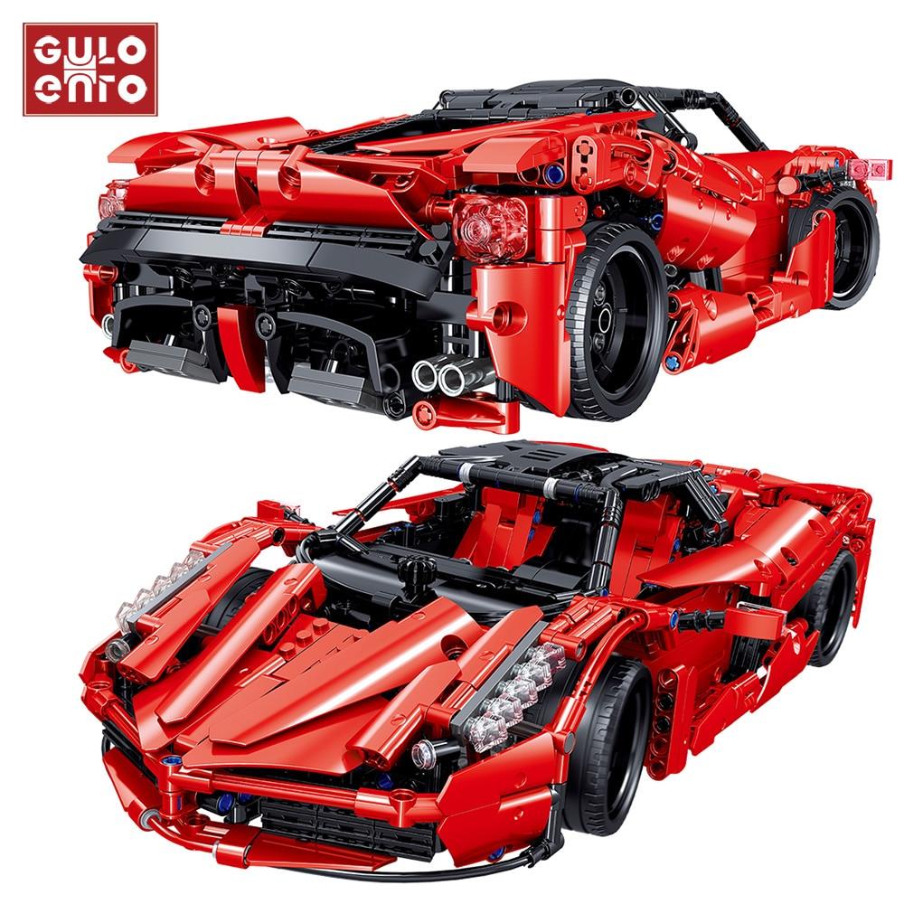1580 pçs velocidade da cidade racer super racing esportes veículo blocos de construção tijolos carro crianças diy brinquedos crianças presentes aniversário
