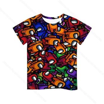 Cartoon Tee  Baby Kids Boys Girls Children Short Sleeves Summer Clothing Fashion 3d Print Toddler Camiseta 22
