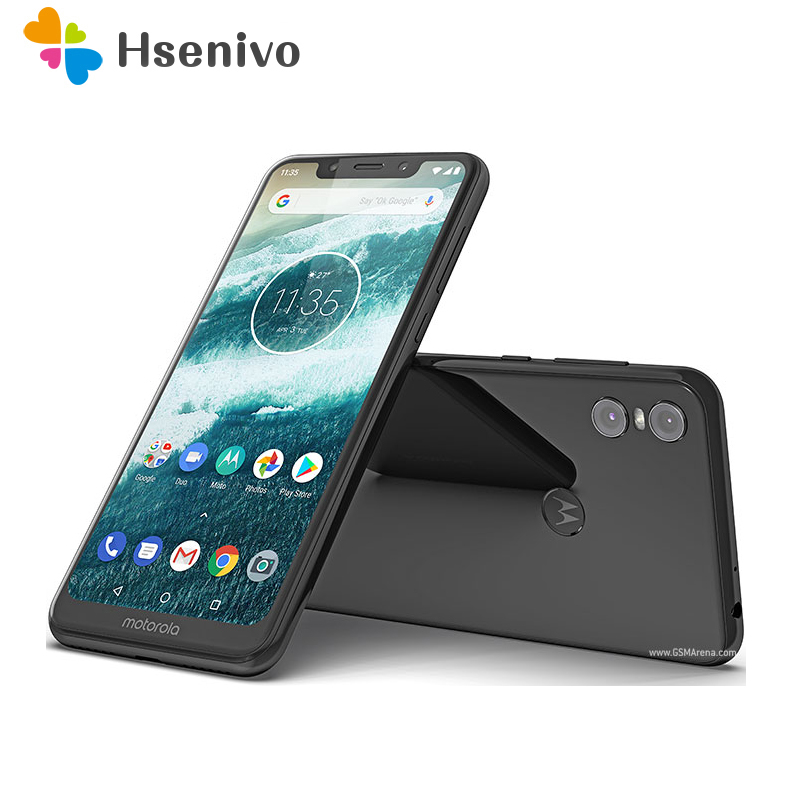 100% Original Unlocked Motorola One (P30 Play) Dual Sim 5.9' Octa-core 4GB Ram 64GB Rom 13.0MP 4G Mobile Phone Free Shipping