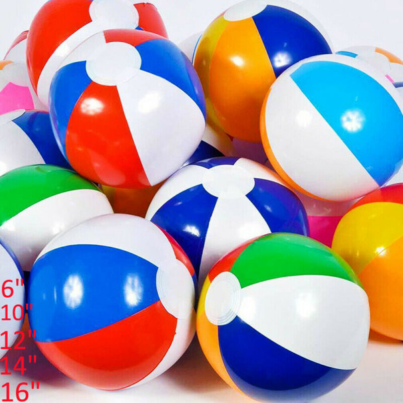 2020 Inflatable PVC  Panel Beach Ball Blow Up Holiday Swimming Pool Game Party Toy Kids Ball