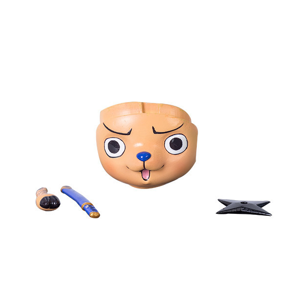Anime Figure ONE PIECE Tony Tony Chopper Face Changeable Cute Action Figure Toys Model Decoration Kawaii Xmas Gifts for Kids B19 1