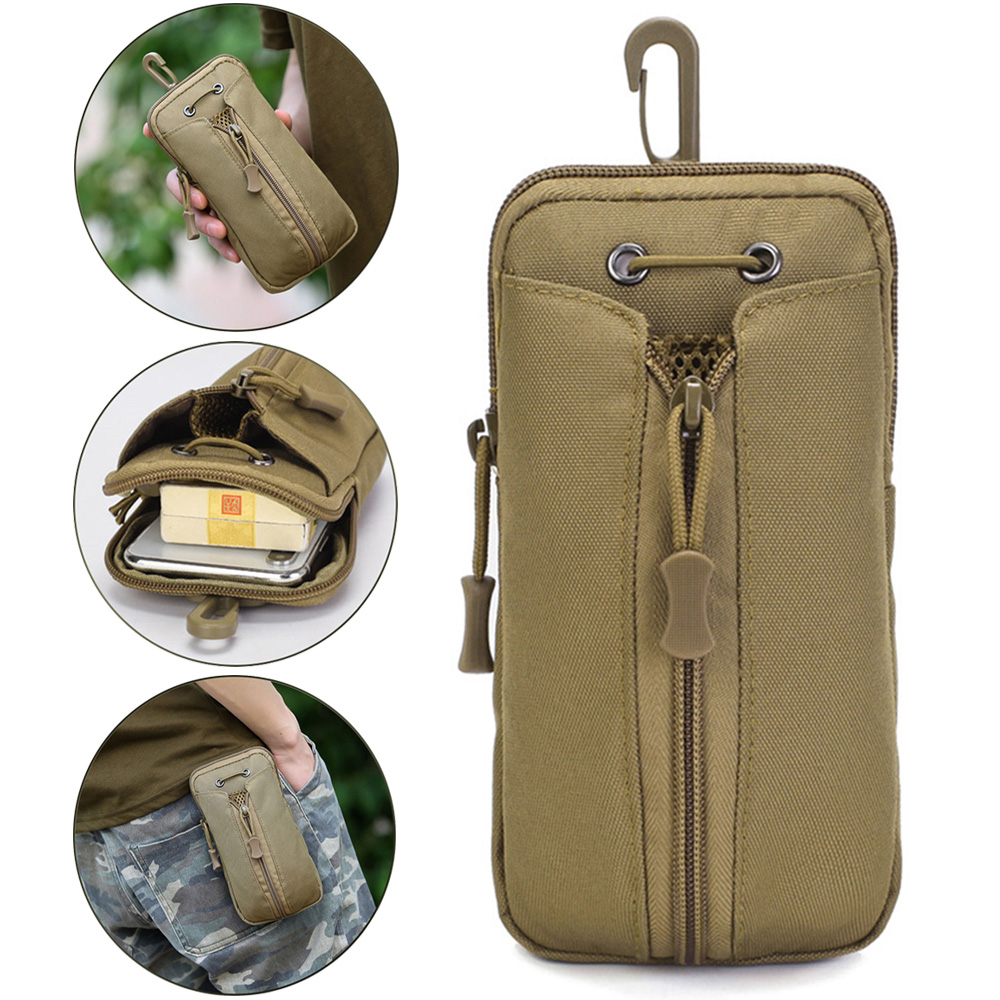 Tactical Molle Water Bottle Holster Adjustable Military Kettle Cover Pouch Tactical Outdoor Hunting Camping Travel Phone Packets