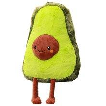 50 см Большой размер Авокадо Фрукты милые плюшевые игрушки мягкие куклы подушка для детей Детский Рождественский подарок для маленьких девочек