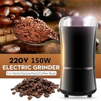150W 220V Electric Coffee Bean Grinder Herbs Spices Nuts Grinding Mill Machine EU Plug