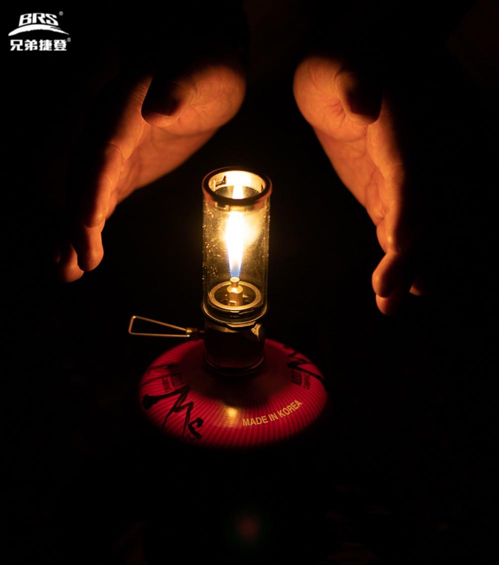 SUNRIS BRS-55 Lampe de Bougie onirique Mini Lampe de Bougie Suspendue Br/ûleur /à gaz Camping en Plein air /éclairage au gaz