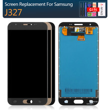 For Samsung Galaxy J3 Emerge 2nd Gen J3 Prime J327 AMOLED LCD Display Touch Screen Digitizer Assembly Brightness Adjustment(China)