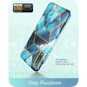 Image 5 - For Samsung Galaxy A50/A50s Case (2019) i Blason Cosmo Full Body Glitter Marble Bumper Case with Built in Screen Protector