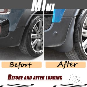 Image 5 - Mud flaps for mini cooper countryman F60 R60 Mudguards Fender mud flap splash guard Fenders Mudguard car accessories Front Rear