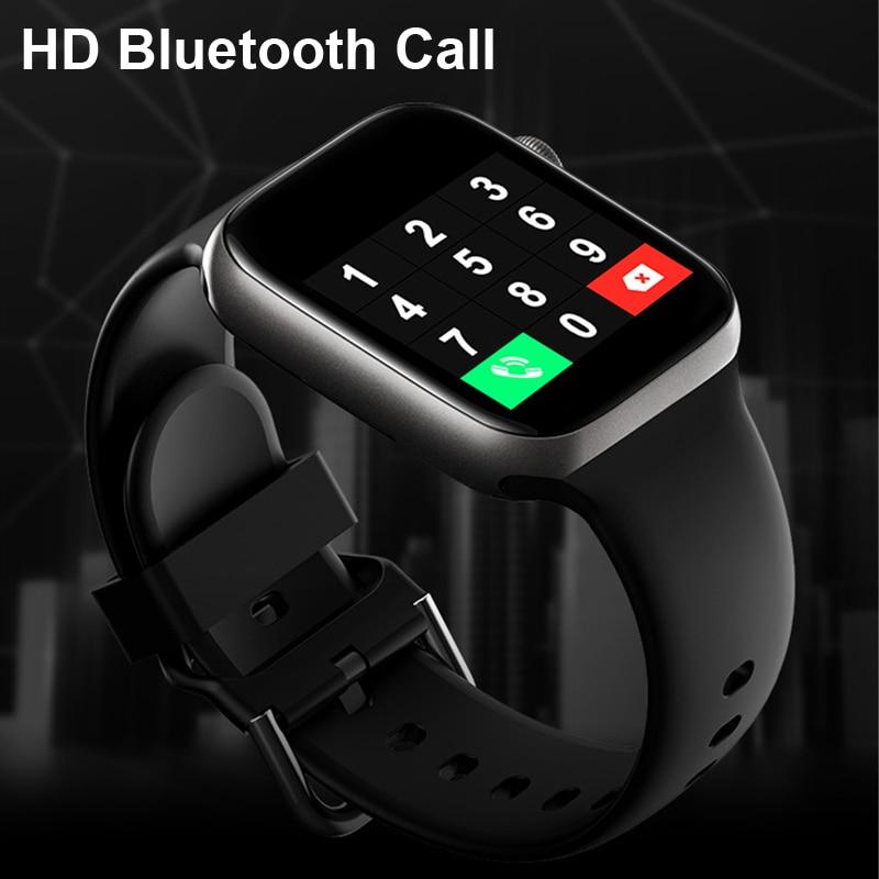 Smart Watch uomo Smartwatch donna Bluetooth Call Watch impermeabile Fitness Tracker Music Control 2020 per Iphone Xiaomi Huawei IWO 1