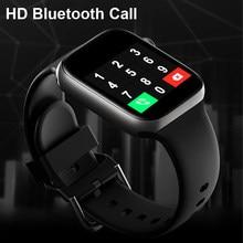Inteligentny zegarek mężczyźni Smartwatch kobiety zegarek Bluetooth zegarek wodoodporny Fitness Tracker sterowanie muzyką 2020 dla iphone Xiaomi Huawei IWO