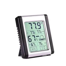 Digital Indoor Thermometer Hygrometer with Humidity Guage  Accurate Temperature Monitor for indoor grow tent greenhouse
