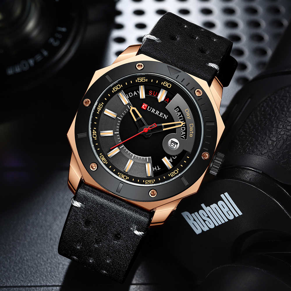 Curren Mannen Horloge Fashion Chic Rvs Quartz Mannelijke Horloges Met Datum En Week Gentleman Keuze