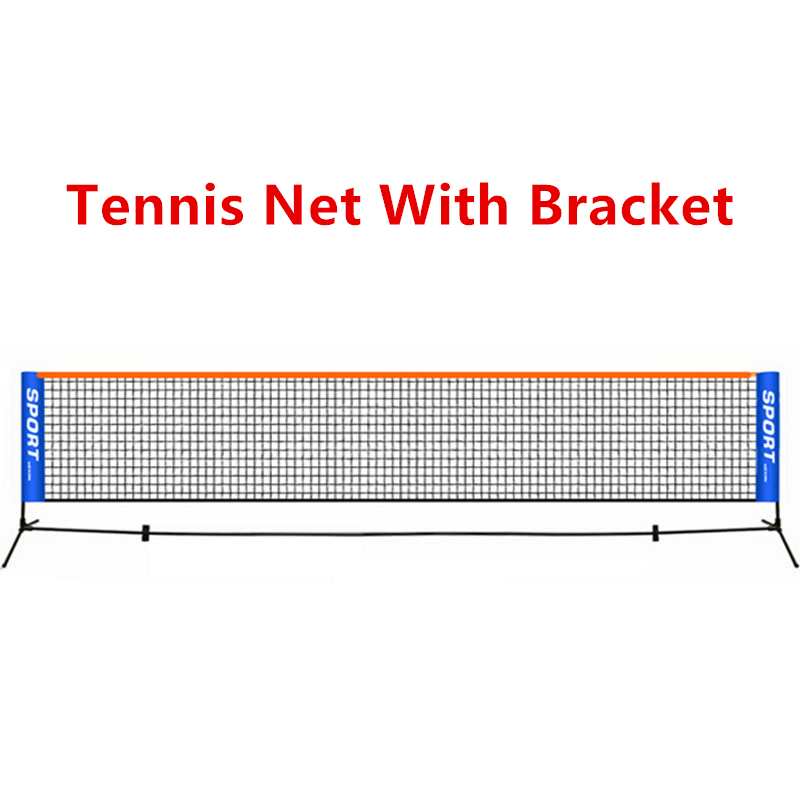 3.1MX0.86M Foldable Tennis Net With Bracket Outdoor Indoor Portable Standard Match Training Net With Frame F1035