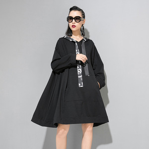 Image 5 - Max LuLu 2019 marca Coreana de moda de las señoras de diseñador de ropa de otoño para mujer con capucha sudaderas holgadas casuales sudaderas largas de talla grande