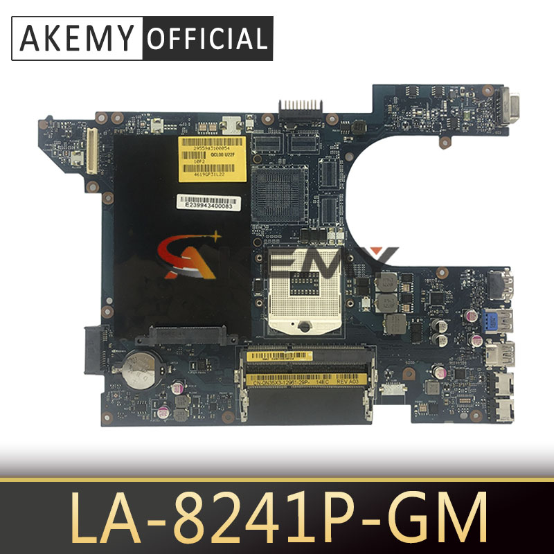 QCL00 LA-8241P motherboar for dell Inspiron 15R 5520 7520 laptop <font><b>motherboard</b></font> 5520 original <font><b>motherboard</b></font> tested 100% work image