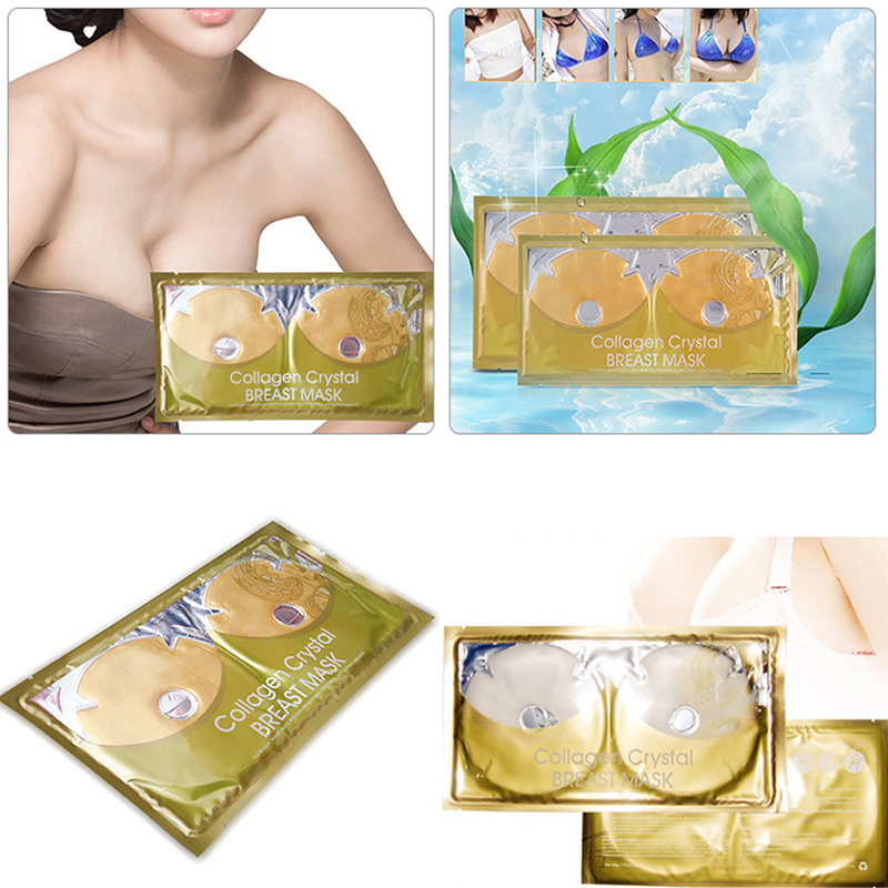 Breast-Mask Bodycare-Tools Skin Firming Collagen Popular Crystal for Lifting Pleura