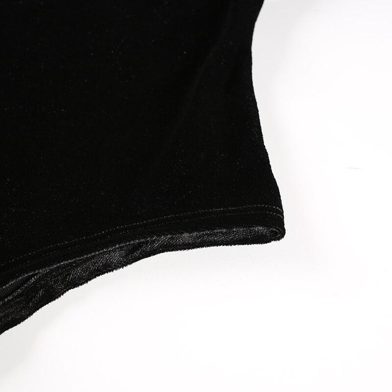 Black Velvet  Bodysuit (4)