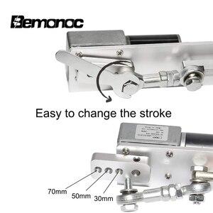 Image 4 - Bemonoc DIY 往復リニアアクチュエータキット 12V 24V DC ギアモーターストローク 30/50/70 ミリメートル DIY リニアアクチュエータのためのセックスマシン