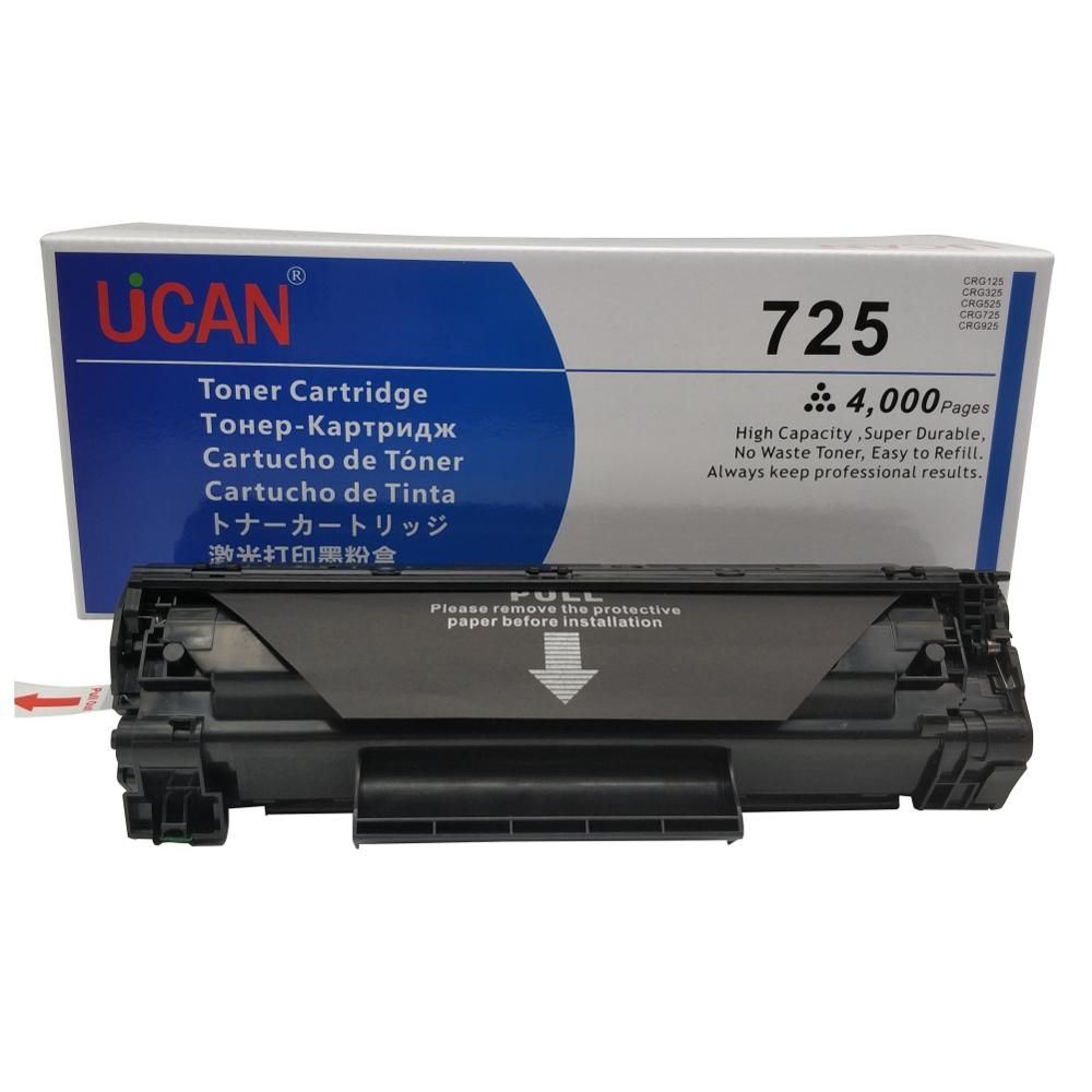 CRG Cartridge 725 Toner CRG725 for <font><b>Canon</b></font> <font><b>LBP6000</b></font> LBP6018W LBP6020 LBP6030w LBP6040 MF3010 Printer 4000 Pages Large Capacity image
