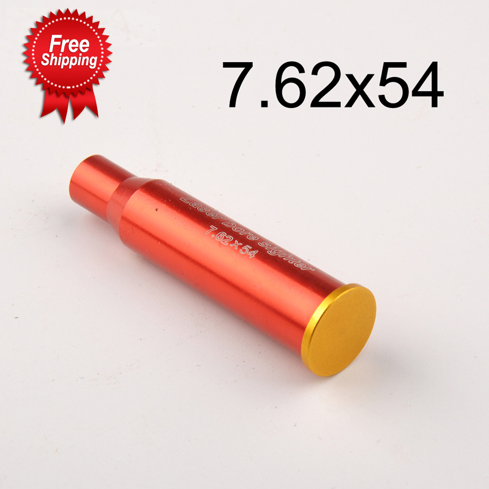 Red Dot Laser Sight Bore Sighter 7.62x54R Cartridge Scopes Boresighter for Hunting Optics Scopes