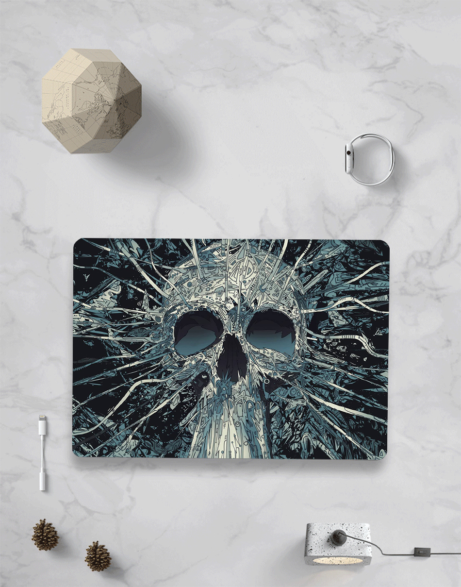 Skull Touch Case for MacBook 7