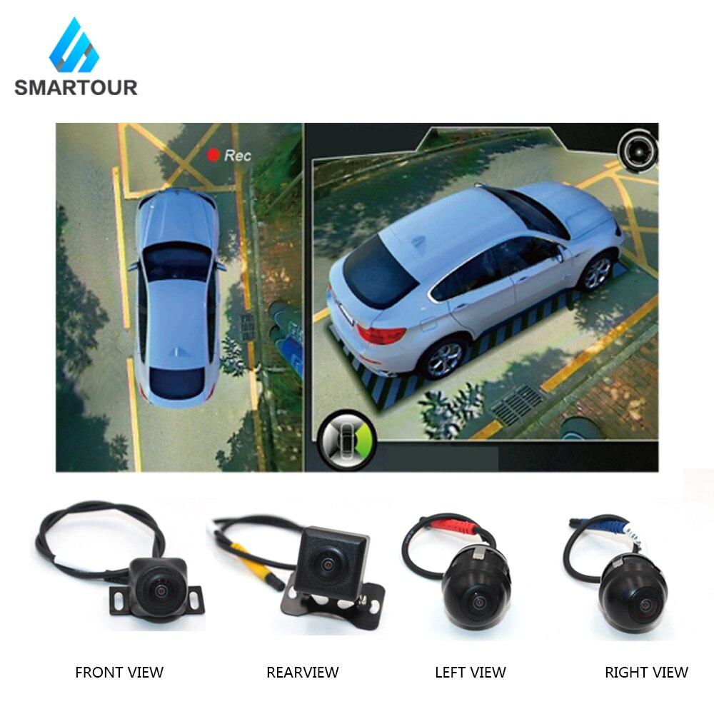 Smartour car 3D 1080P HD 360 degrés système de vue panoramique avec vue panoramique système de caméra avec DVR Quad-core CPU - 2