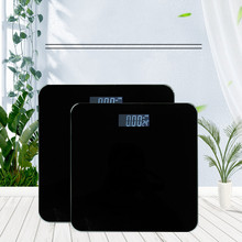 Body Weighing Scale Smart Body Scales Lcd Display Glass Digital Weight Scale Bath Scale Electronic Floor Scales Health Balance vogvigo 150kg bathroom body fat bmi scale digital human weight mi scales floor lcd display body index electronic scales
