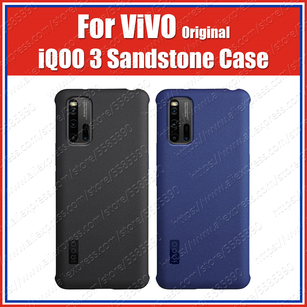 V1955A Sandstone 1.15Mm Original Vivo Iqoo 3 5G Case Official Stock Ultra Thin Matte PC Protection Cover