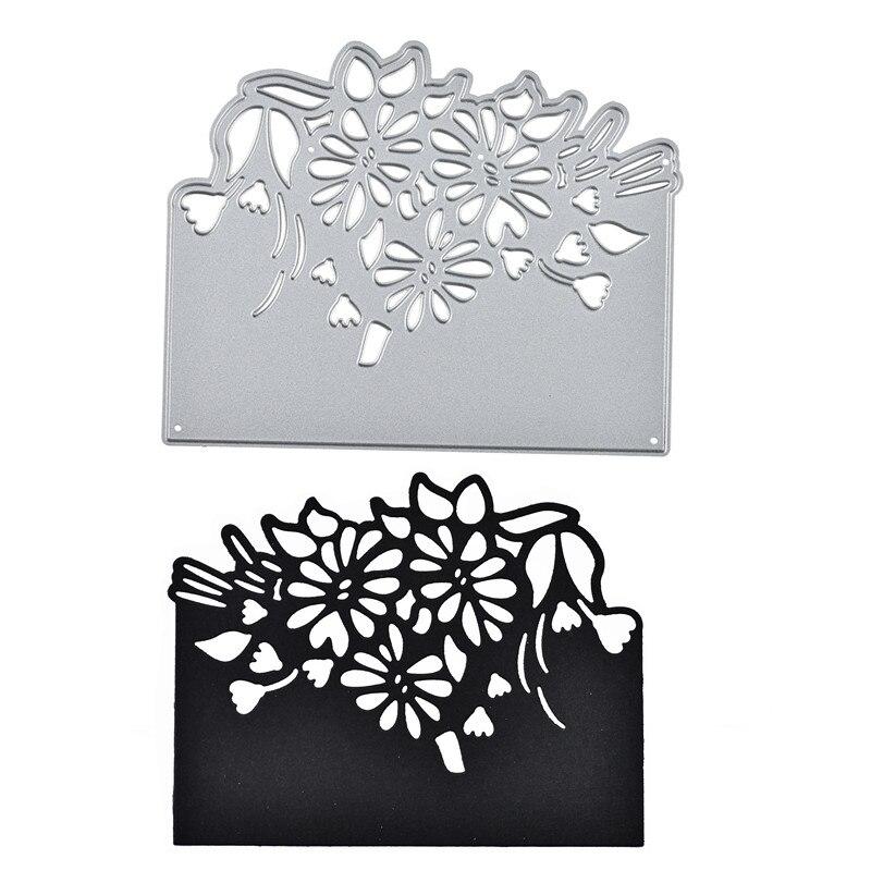 DIY Metal Cutting Dies Embossing Die Scrapbooking DIY Stencil Flower Lace