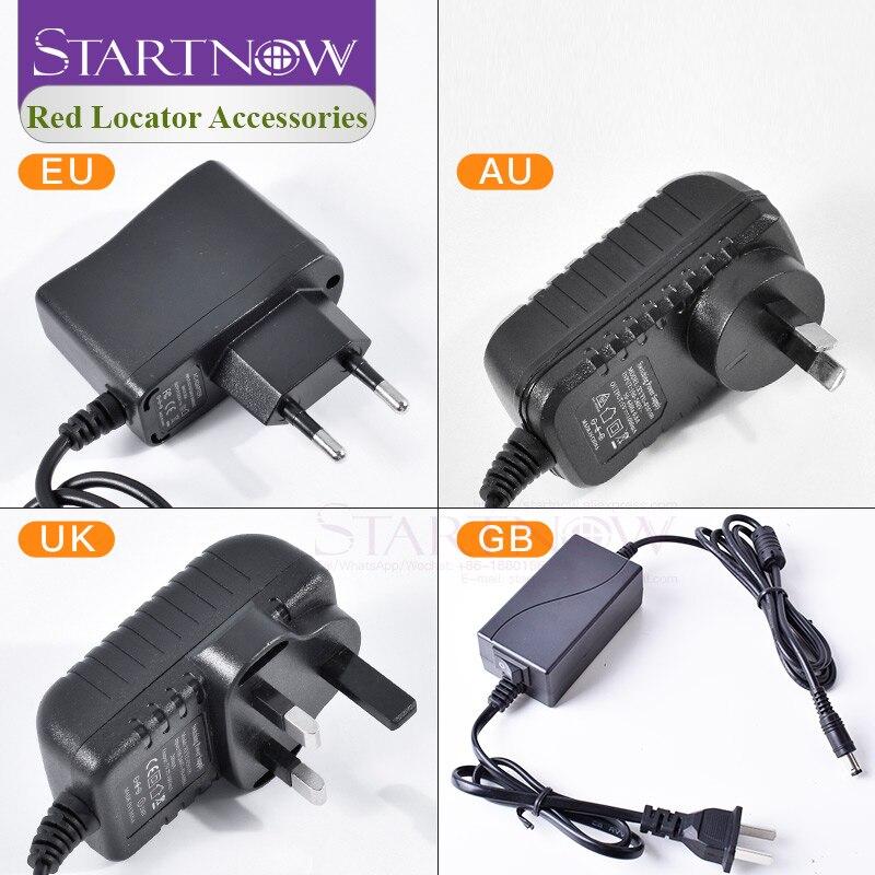 Adaptateur dalimentation de localisateur Laser séparateur de cordon dalimentation cc 24V ue AU royaume-uni pour le positionnement du Module Laser caméra de sécurité de bande de LED