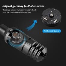 ใหม่Mini Rotary Tattoo Machine Gun StrongเยอรมนีFaulhaberมอเตอร์คุณภาพสูงตลับหมึกTatttooปากกาอุปกรณ์