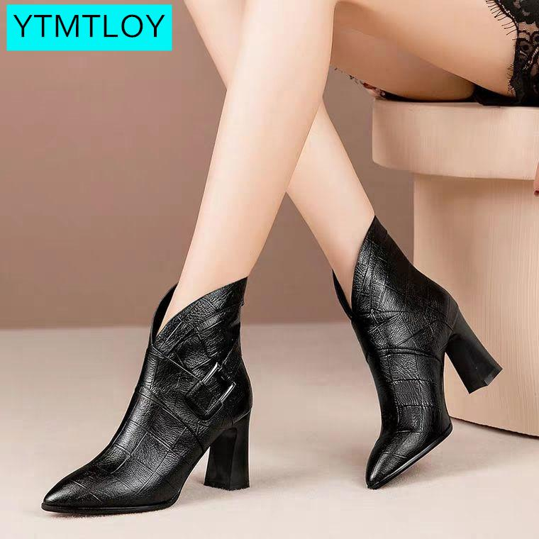 Women Ankle Boots Wedges Platform Winter Female High Heel Increasing Shoes Lady   Fashion Casual Footwear Zapatos Con Cordones