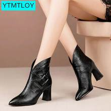 Women Ankle Boots Wedges Platform winter Female High Heel Increasing Shoes Lady Fashion Casual Footwear Zapatos Con Cordones(China)