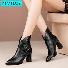 Women Ankle Boots Wedges Platform winter Female High Heel Increasing Sh