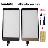 Dla LG G3 S Mini Beat G3s D722 D724 D725 ekran dotykowy szkło Digitizer czujnik w Panele dotykowe do telefonów komórkowych od Telefony komórkowe i telekomunikacja na